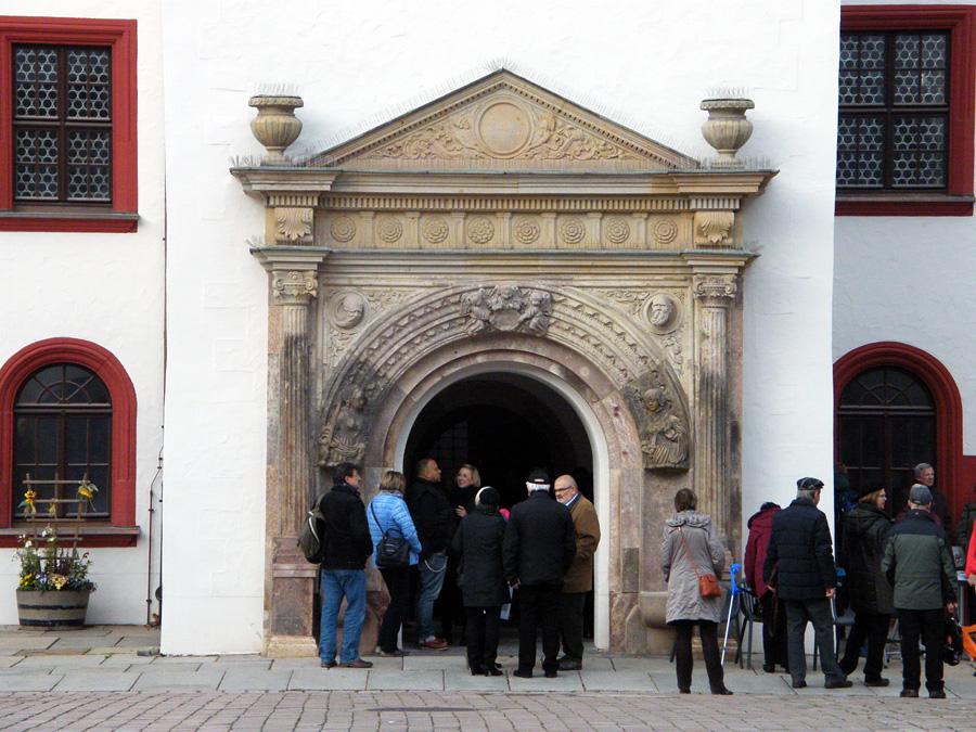 Figürliches Glockenspiel in Chemnitz