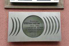 Gedenktafel am Geburtshaus von Stefan Heym
