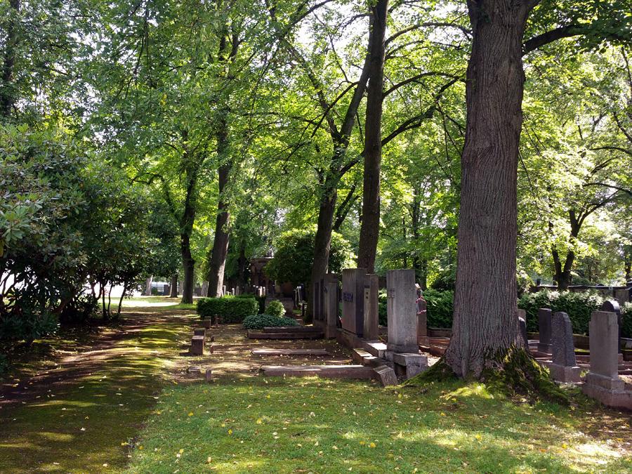Der jüdische Friedhof in Chemnitz
