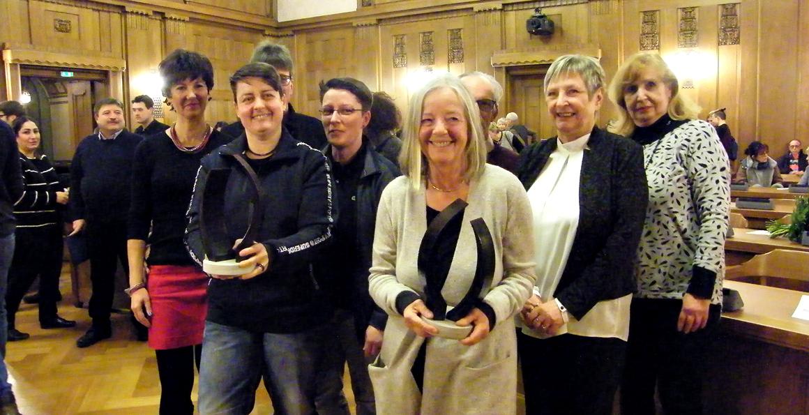 Die Preisträger des Chemnitzer Friedenspreis 2018