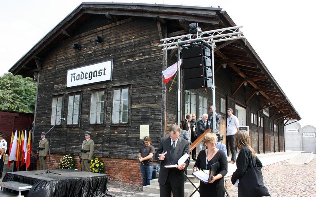 Bahnhof Radegast / Gedenkstätte des Ghettos Litzmannstadt