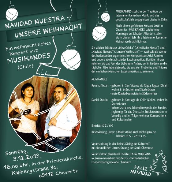 Ein weihnachtliches Konzert mit MUSIKANDES.