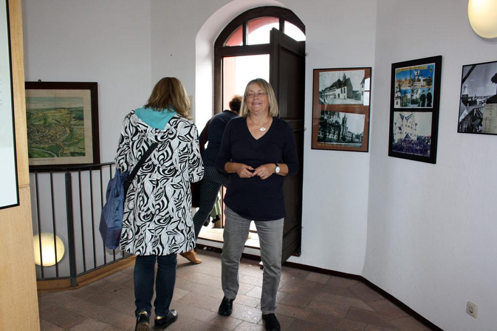 Wir danken Frau Sachs für die tolle Rathausführung.
