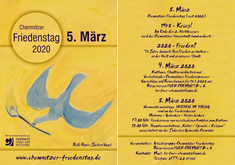 Chemnitzer Friedenstag 2020