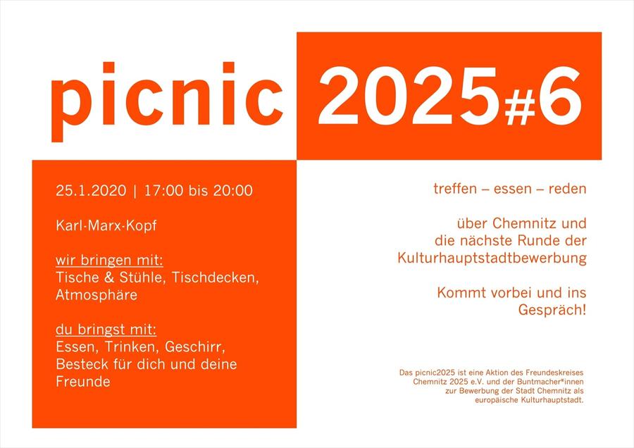 picnic2025#6 - 25.01.2020 - 17-20 Uhr