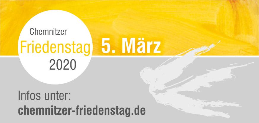 5. März 2020 Chemnitzer Friedenstag