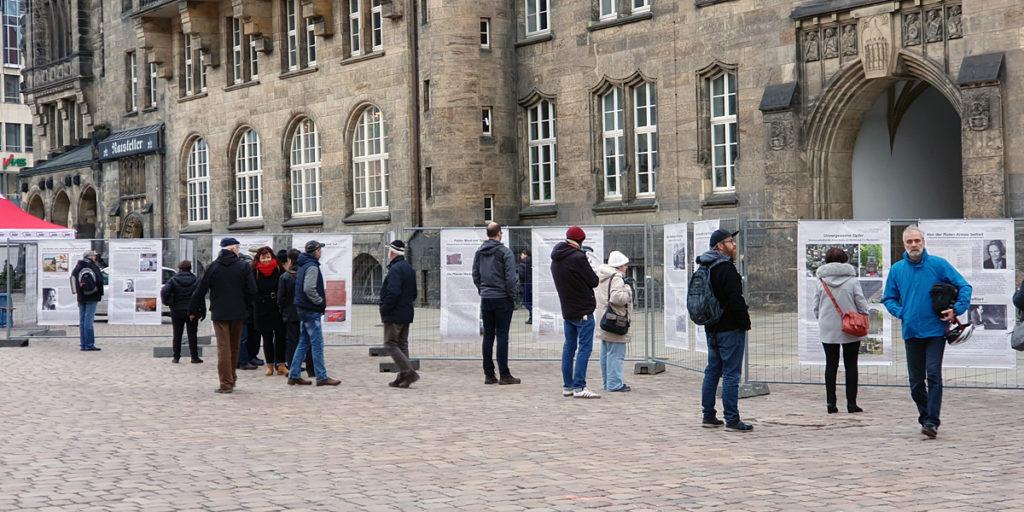 """Die Ausstellung """"Gedenken. Mahnen. Widerstand"""" von VVN-BdA"""
