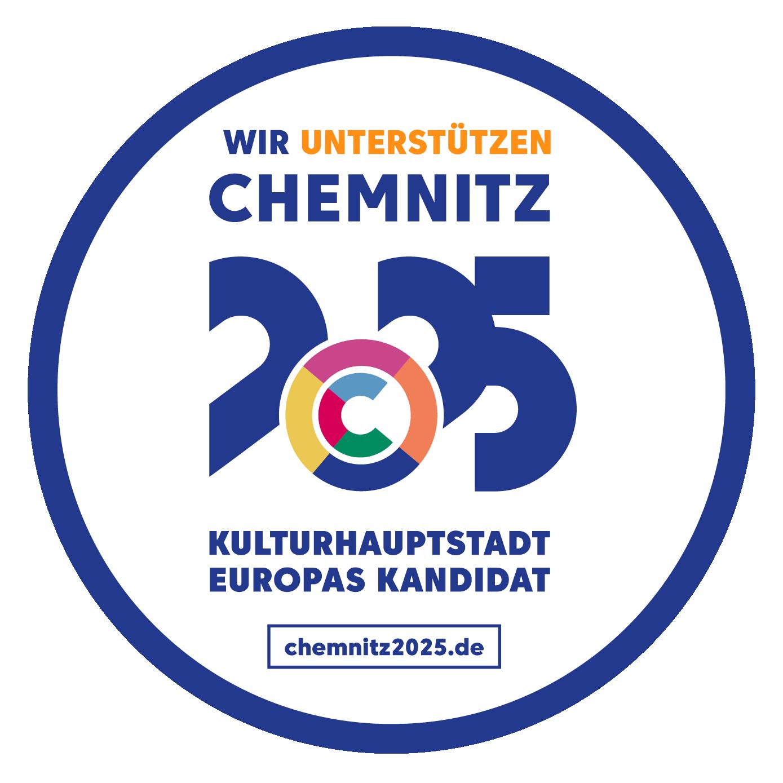 Wir unterstützen die Bewerbung von Chemnitz als Kulturhauptstadt 2025
